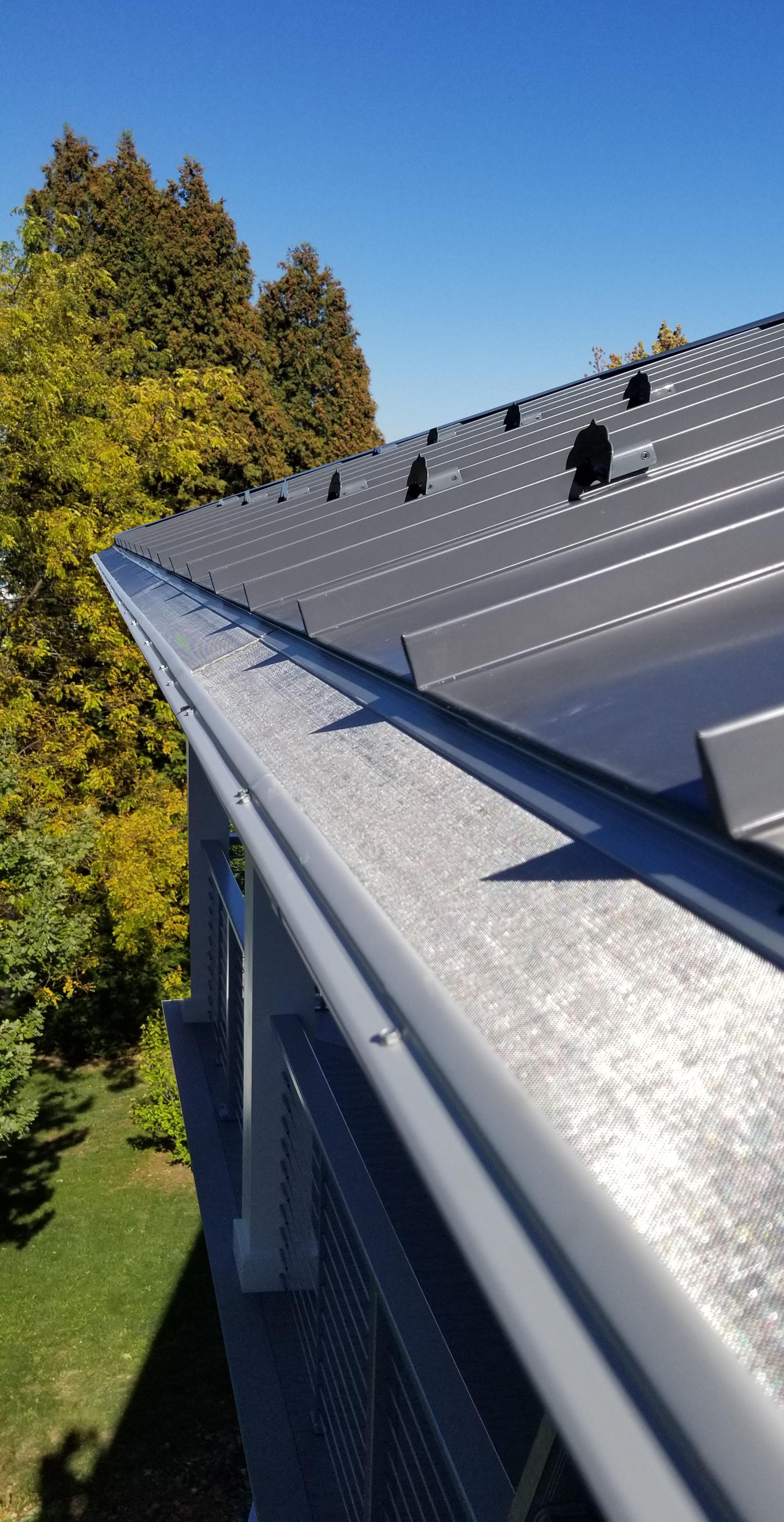 Heated Gutter Cover Michigan Gutters Inc
