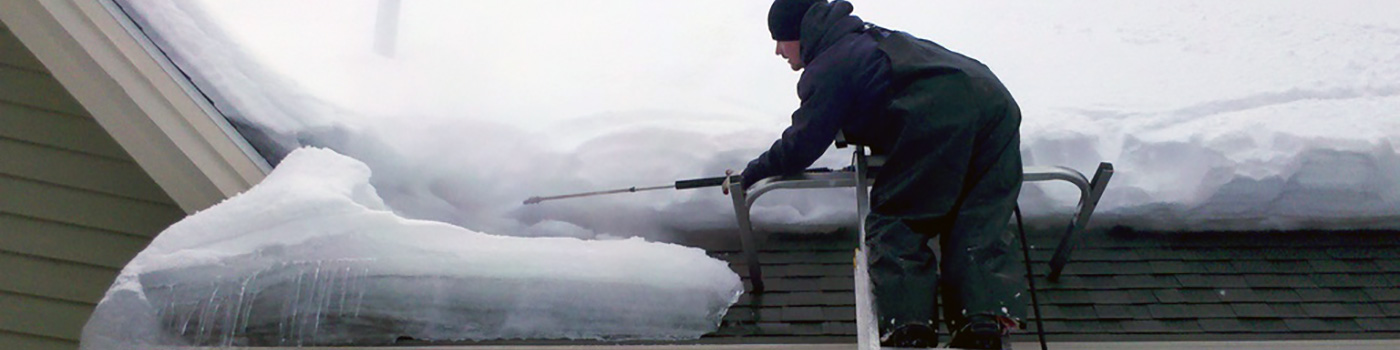 Ice Steaming And Roof Shoveling Michigan Gutters Inc