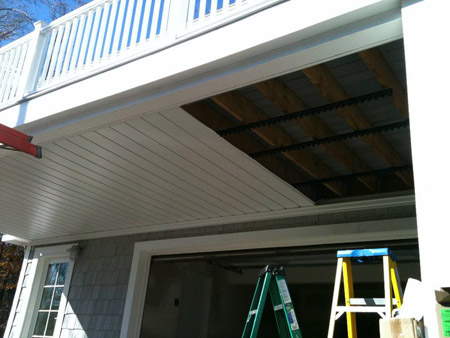 Underdeck Drainage Michigan Gutters Inc